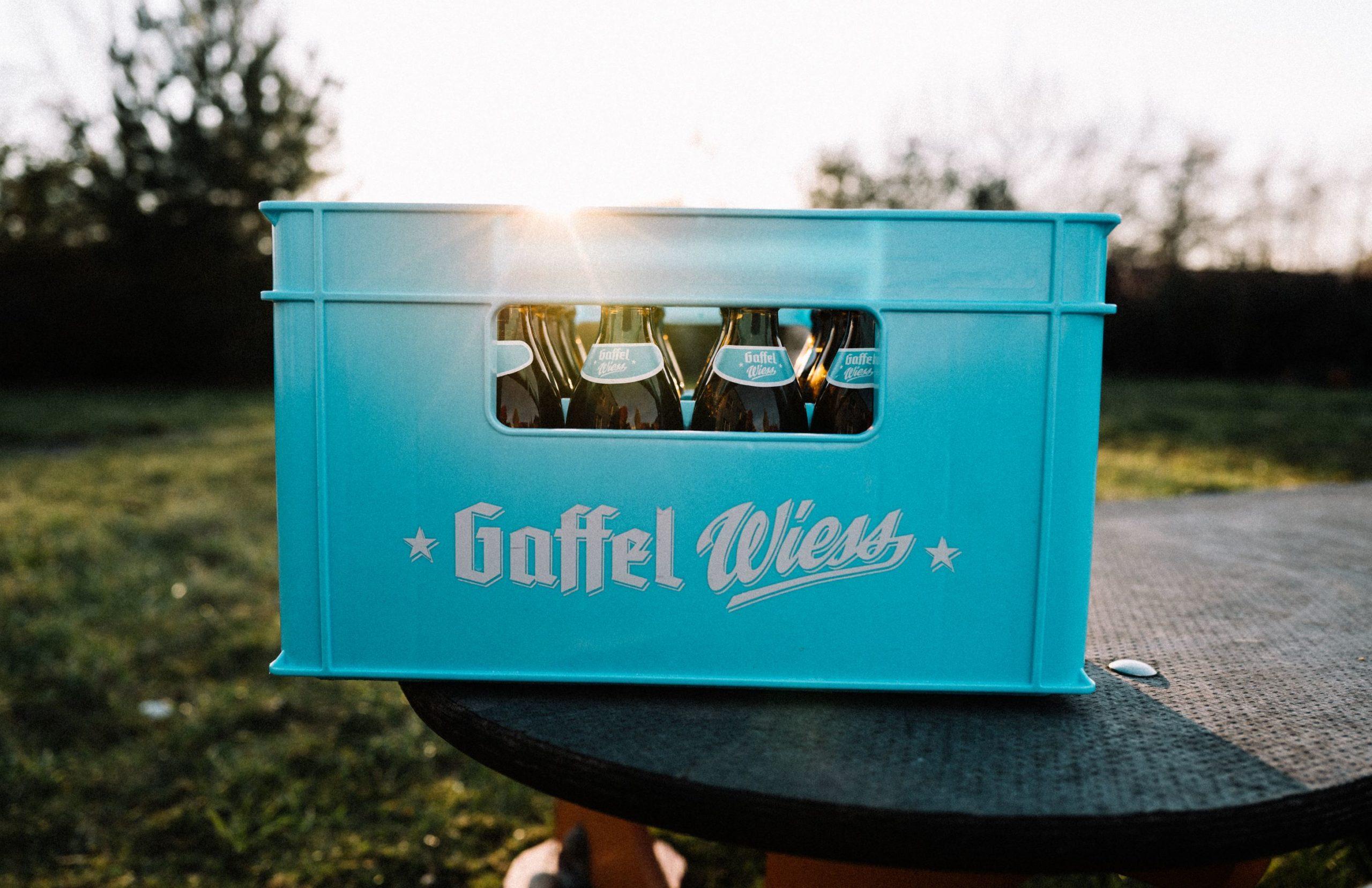 Gaffel setzt für Wiess die trendige 0,33l Euro-Flasche ein