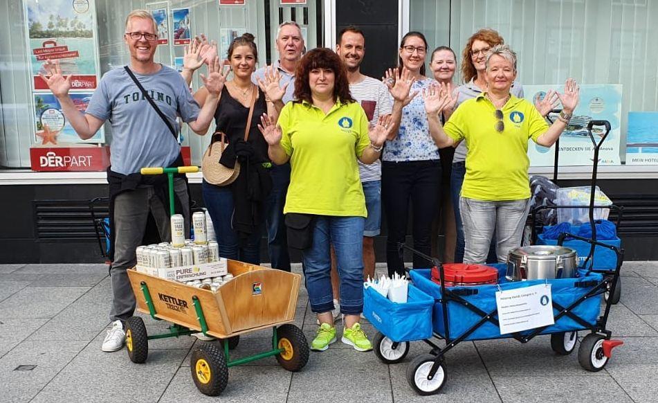 Helping Hands Cologne machen aus der Jugendherberge Pathpoint Cologne ein temporäres Obdachlosenasyl