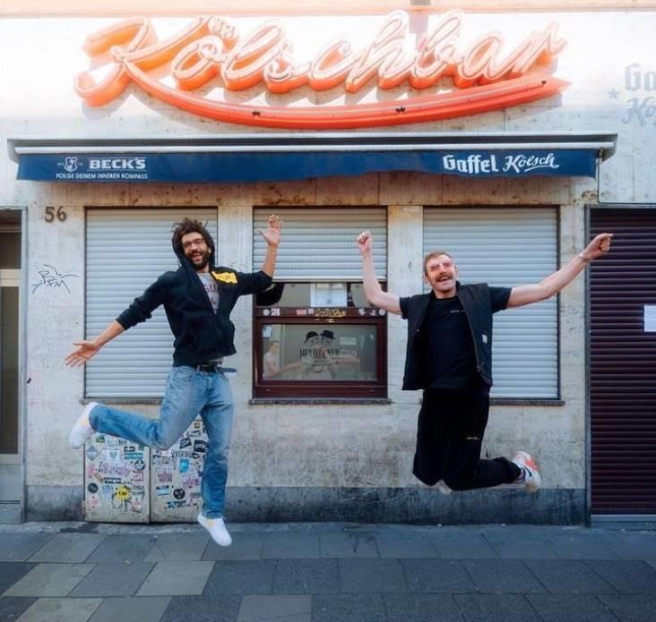 Der schöne Branko und Flimmy legen Weiberfastnacht auf