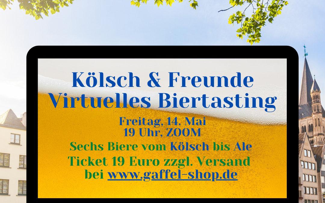 """Digitale Bierverkostung """"Kölsch & Freunde"""" am 14. April"""