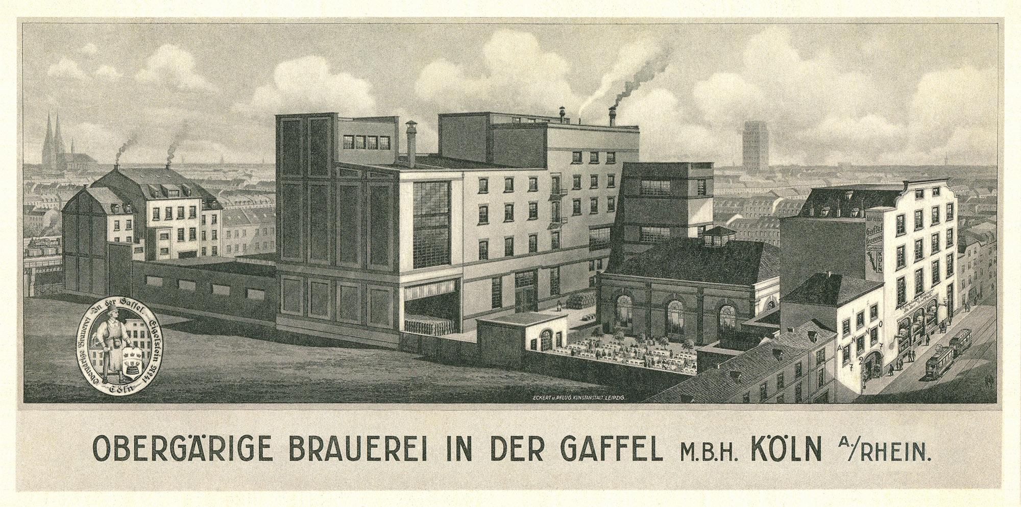 Privatbrauerei Gaffel - 111 Jahre Brautradition in Köln
