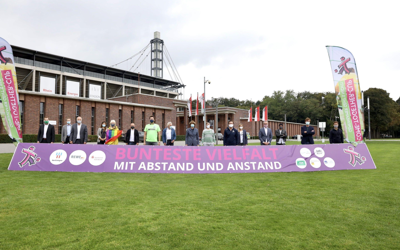 27. COME-TOGETHER-CUP KÖLN: Sport, Spaß und Musik auf den Vorwiesen des RheinEnergieSTADION