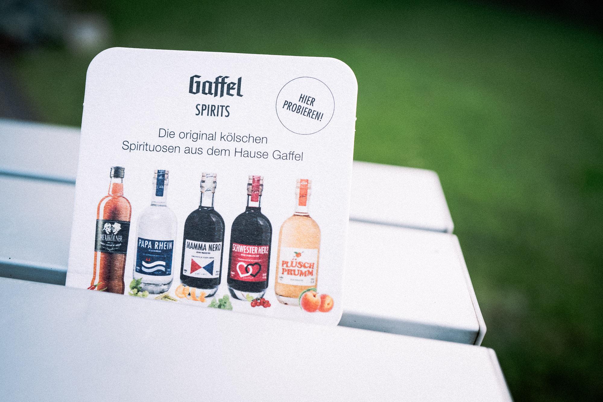 DLG-Medaillen in Gold für vier Produkte der Reihe Gaffel Spirits