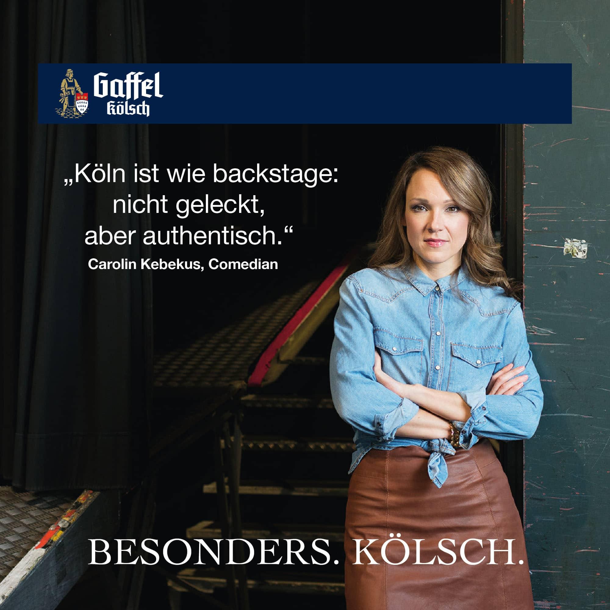 Carolin Kebekus – Stimme fuer Köln
