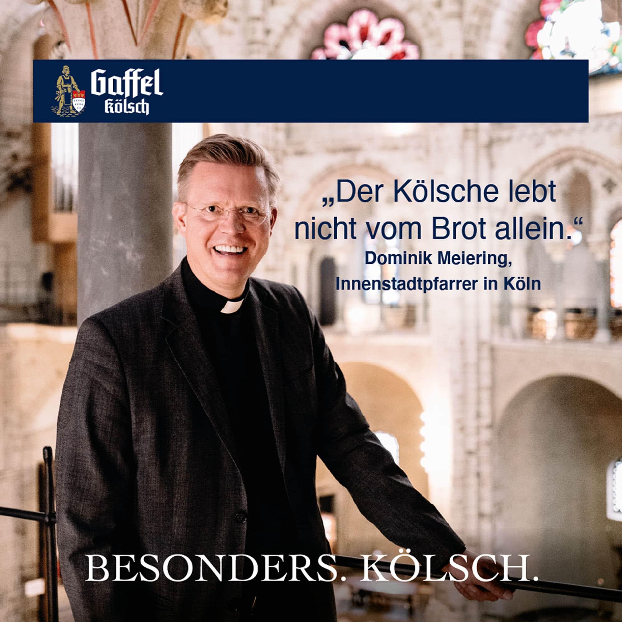 Dominik Meiering Bierdeckel Stimme für Köln