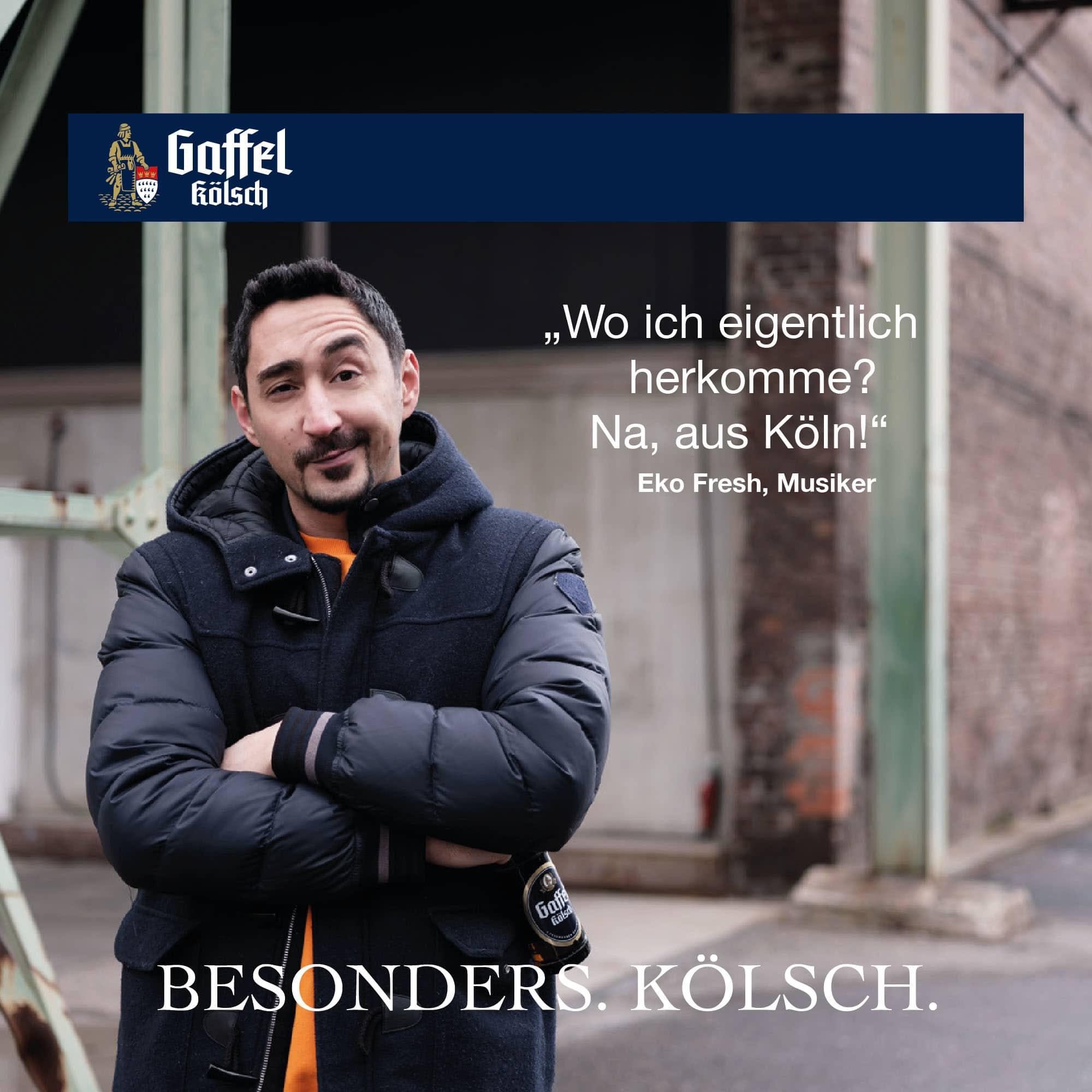 Eko Fresh – Stimme fuer Köln