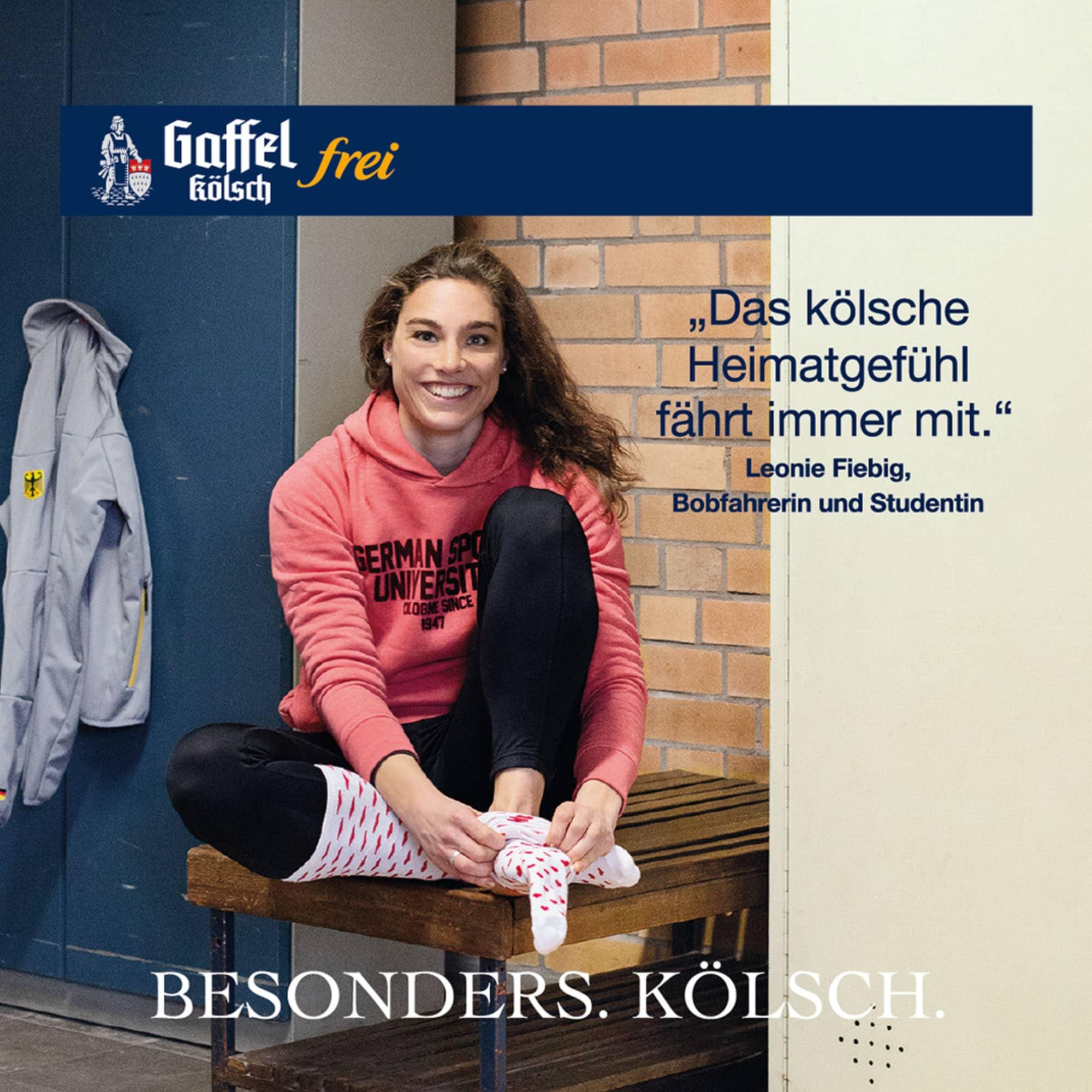 Leonie Fiebig Stimme für Köln Bierdeckel