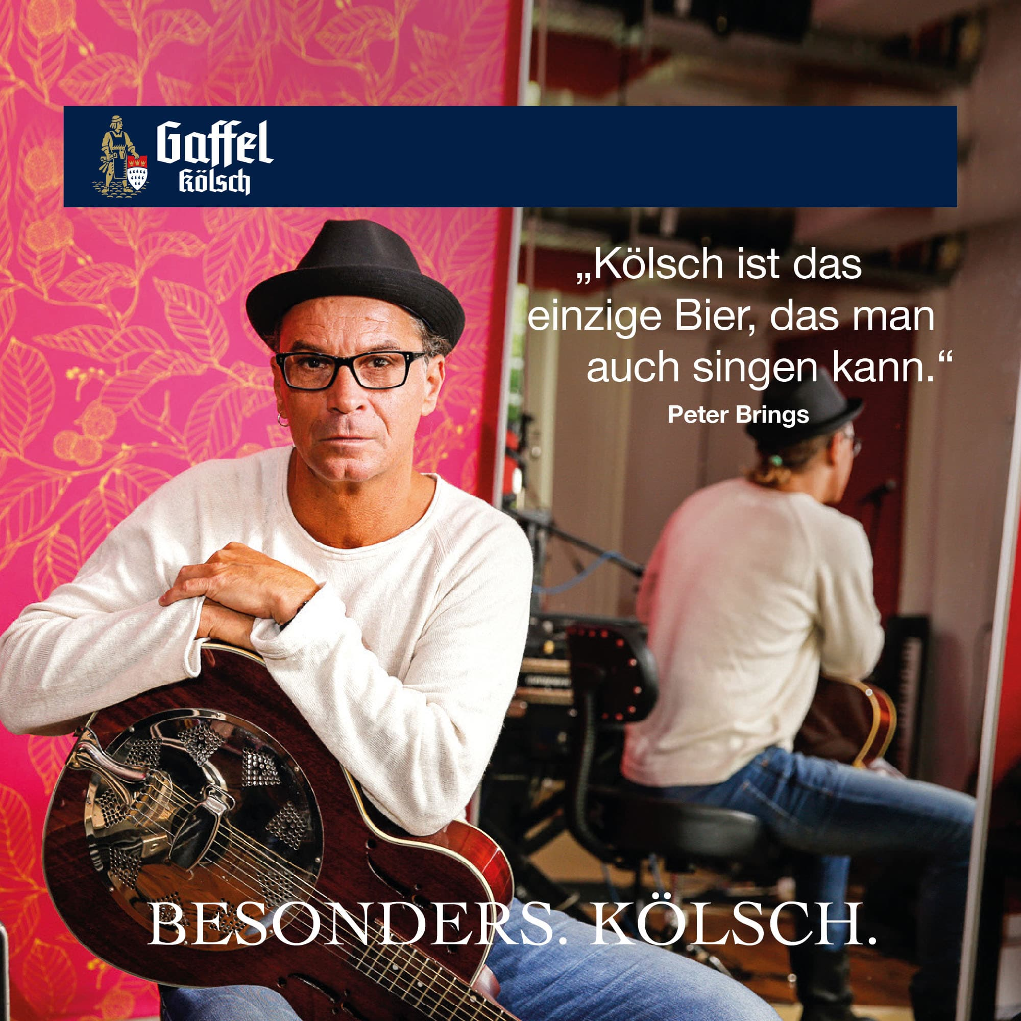 Peter Brings Musiker Stimme für Köln