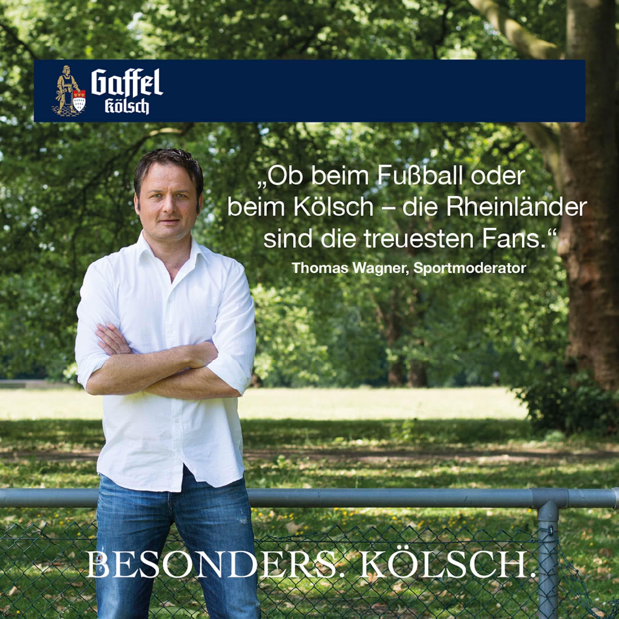 Thomas Wagner Stimme für Köln Bierdeckel