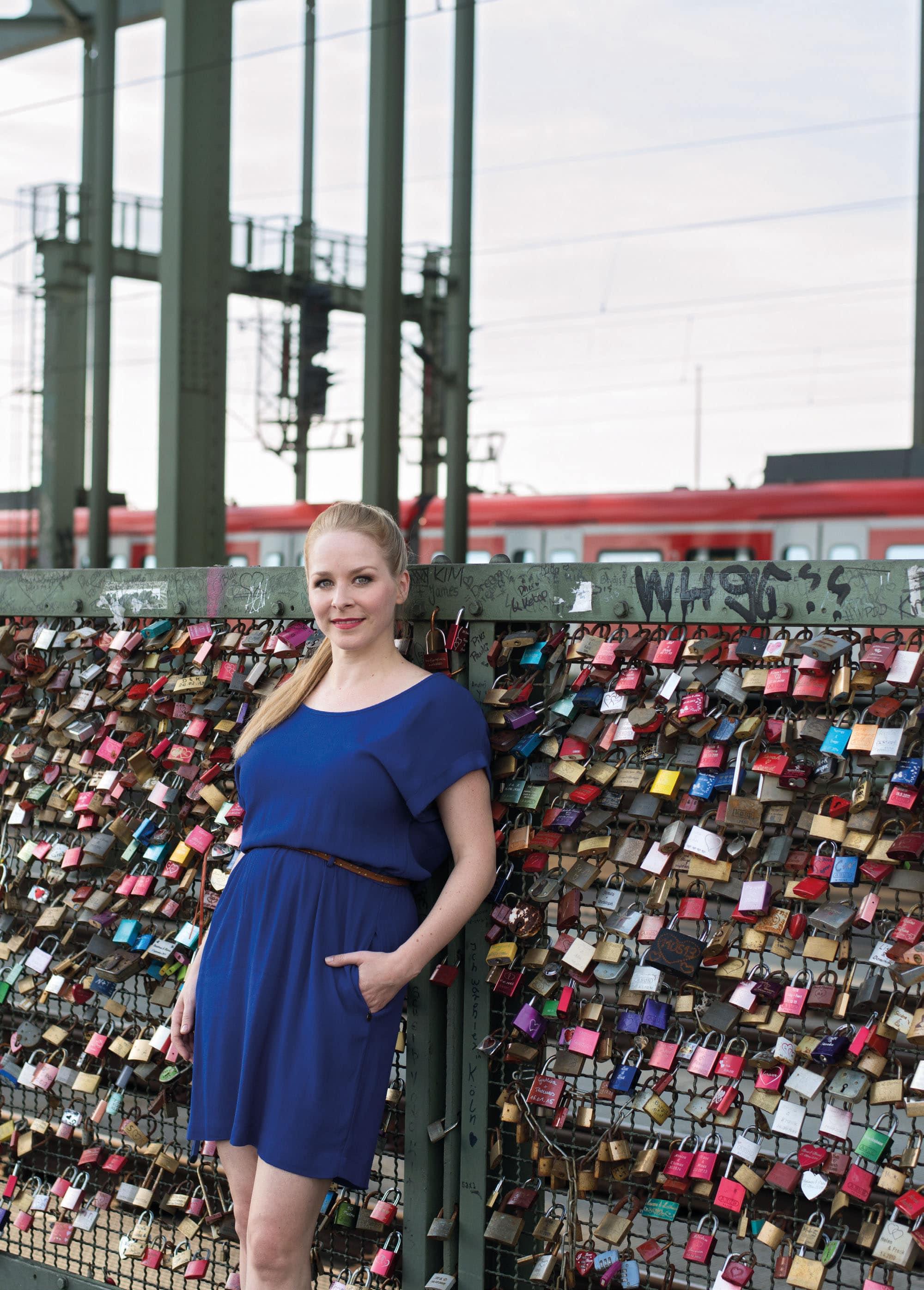 Jasmin Schwiers Stimme für Köln