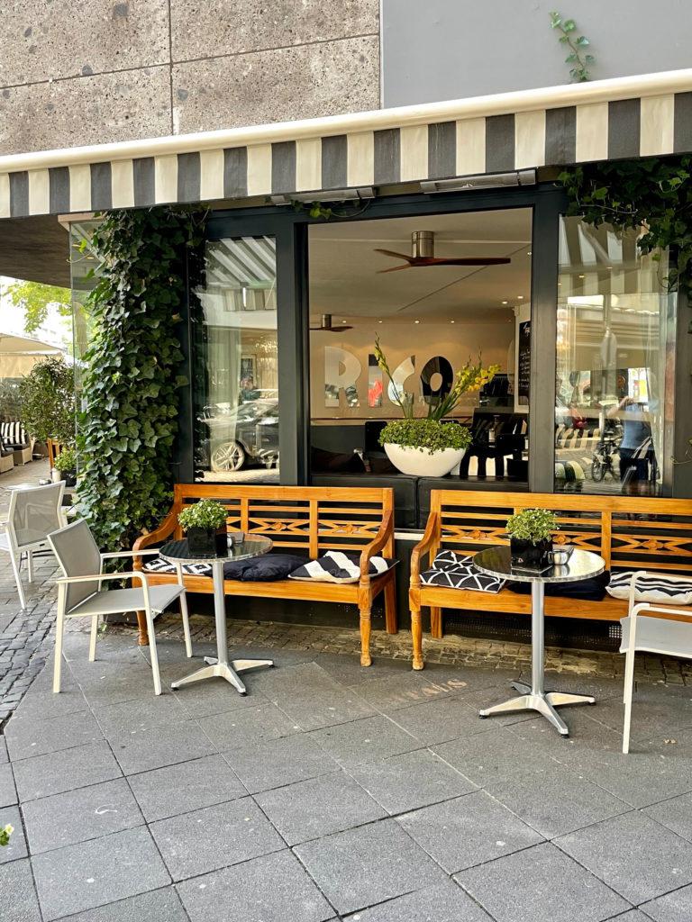 Café Rico in der Innenstadt