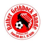 1. FC Köln – Fanclub – Rather Geißbock Bande