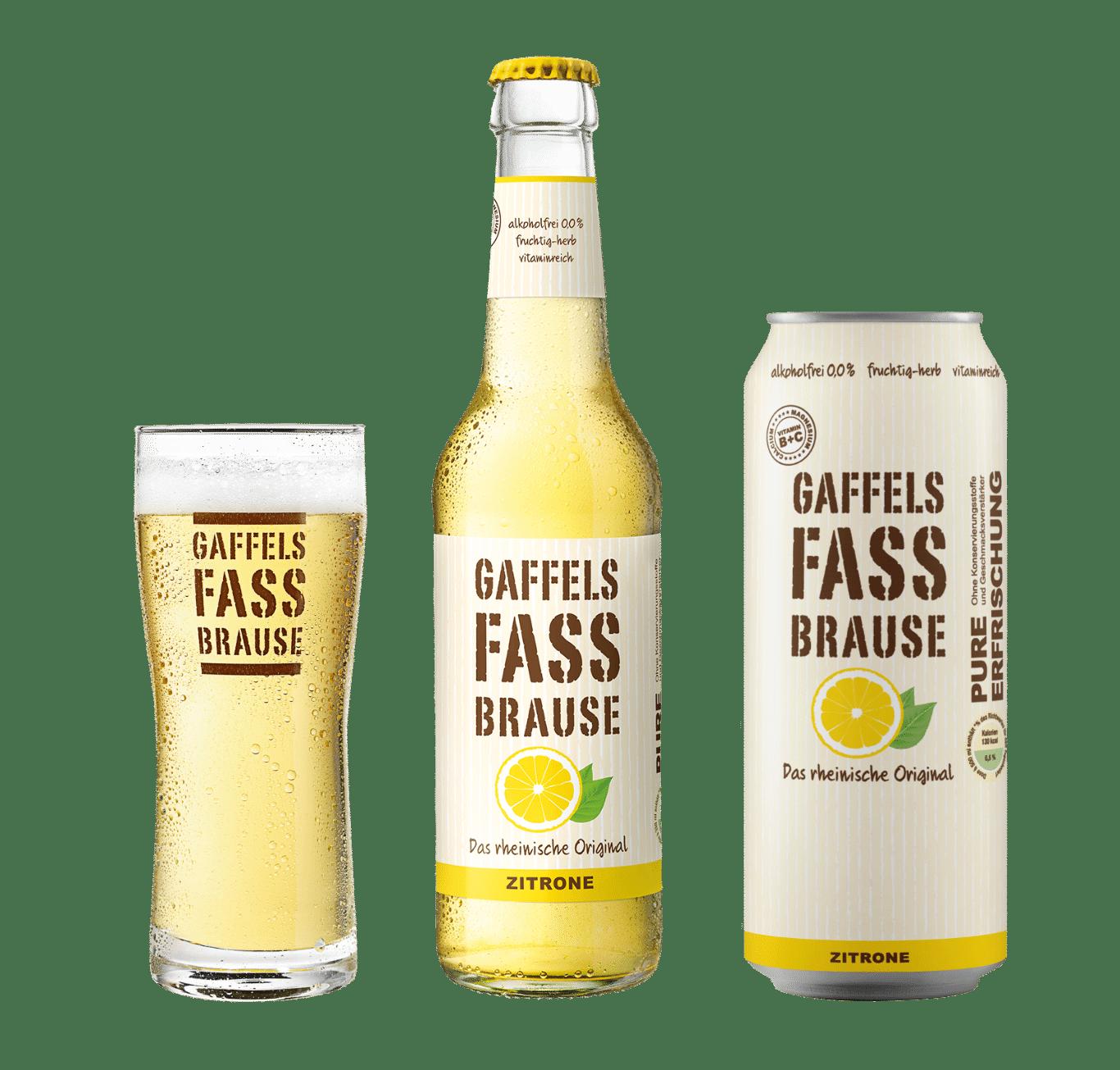 Fassbrause Zitrone
