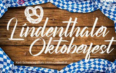 O'zapft is! Erstes Lindenthaler Oktoberfest auf dem Karl-Schwering-Platz an der Dürener Straße