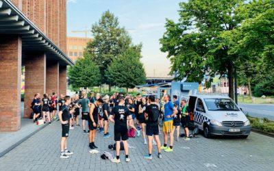 Gaffel Lauffreunde sind wieder voll auf Touren: Regelmäßige Lauftreffs mit erfrischenden Getränken danach