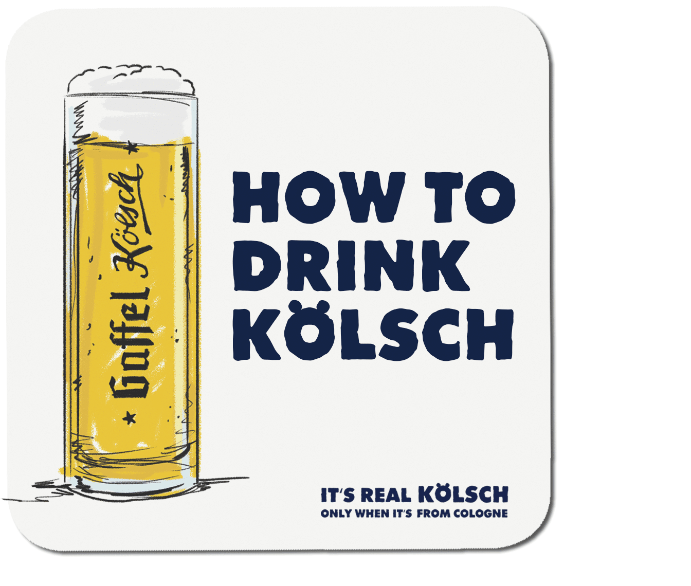 How to drink real Kölsch